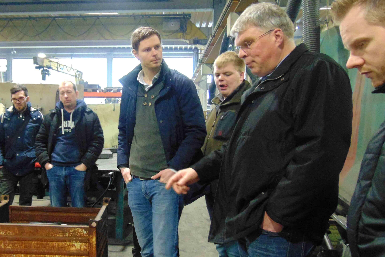 Betriebsbesichtigung bei HMF Hermeler Maschinenbau