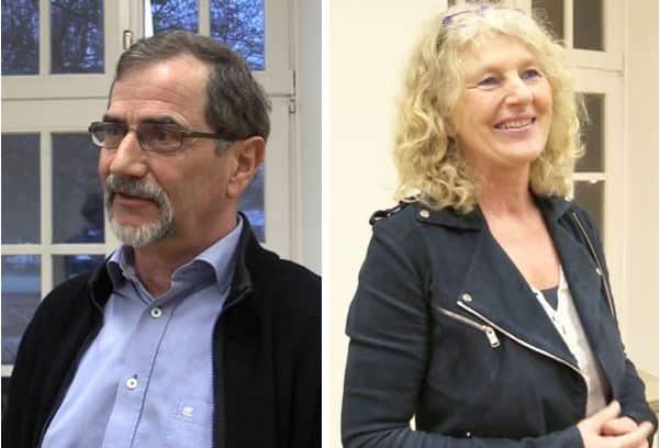 Dieter Weber und Mathilde Friederichsen