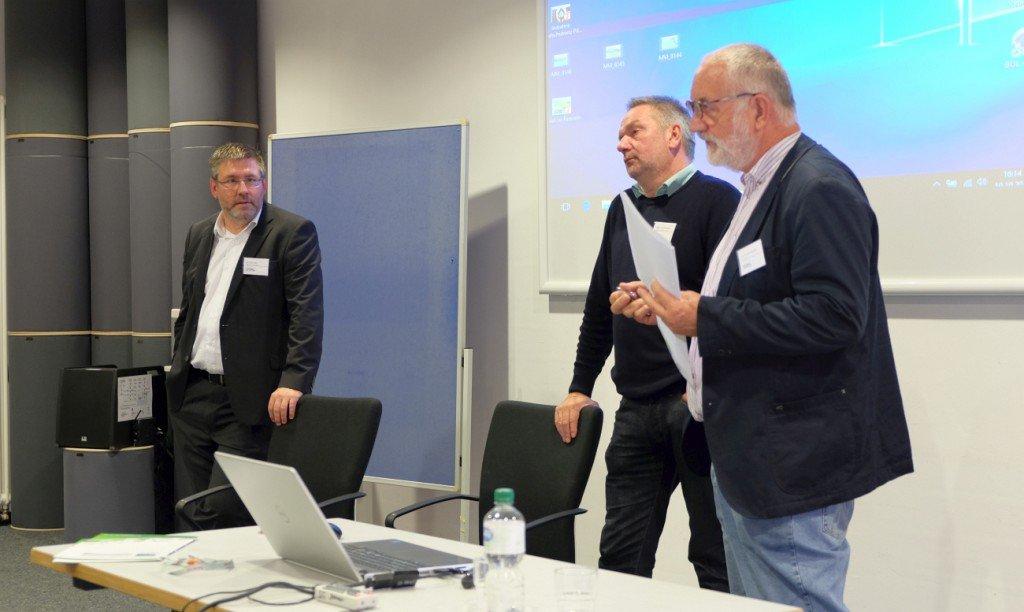 Referenten bei der 46. GKL Jahrestagung. Foto: Tanja Dolic