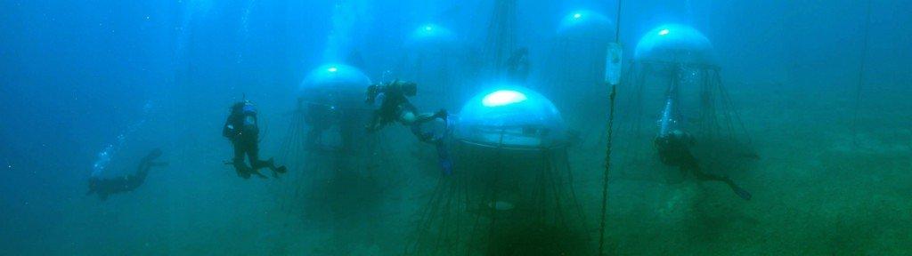 Unterwasseranbau im Mittelmeer   Foto: Ocean Reef Group/Nemo's Garden