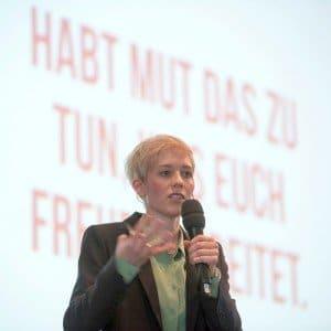 Dr. Steffi Burkhart, Expertin für den Wandel der Arbeitswelt  Foto: Ehrecke/LWK Niedersachsen