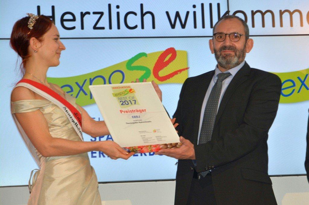 Innovationspreis an Marc Joulin, EBBJ Foto: Heike Sommerkamp