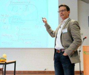 Jürgen Petersen, Gedächtnis- und Motivationstrainer. Foto: Tanja Dolic