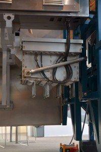 Spargelernteroboter, Detailaufnahme. Foto: Heike Sommerkamp