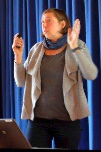 Christine Lessmann. Foto: Heike Sommerkamp