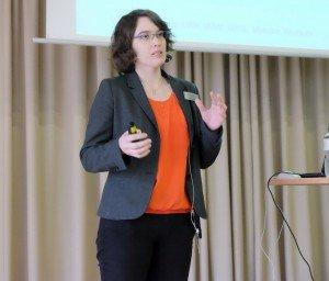 Verena Hersping, Beerenobstberatung LWK NRW. Foto: Tanja Dolic
