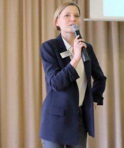 Sandra Nitsch, Pflanzenschutzdienst LWK NRW. Foto: Tanja Dolic