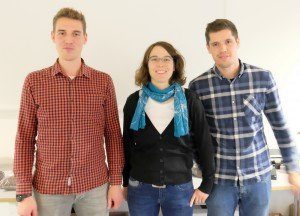 Bernd Möllers, Verena Hersping, Simon Schrey (v.l.), LWK NRW. Foto: Tanja Dolic