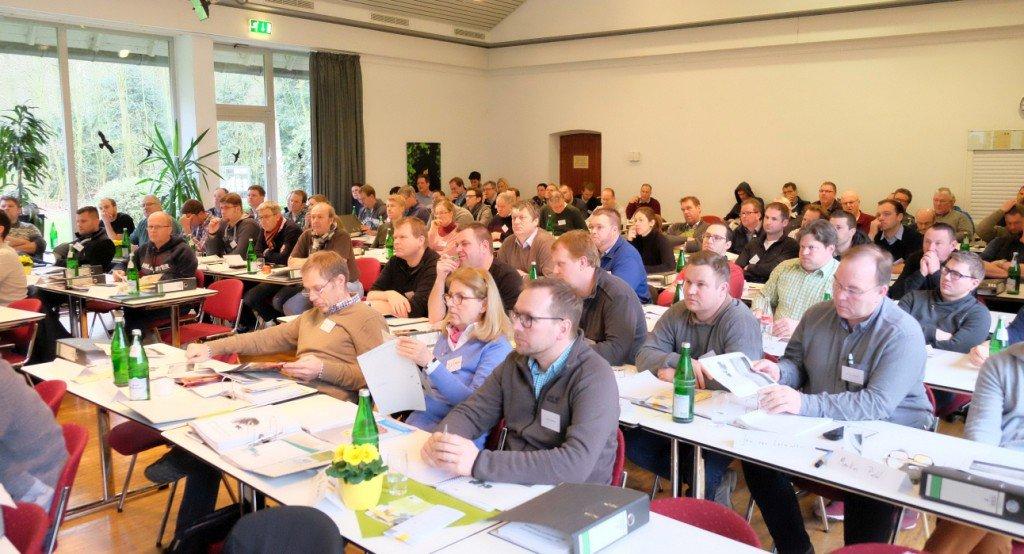 Publikum Freckenhorster Beerenobstseminar 2018. Foto: Tanja Dolic
