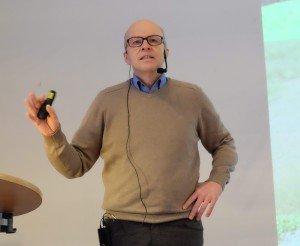 Prof. Dr. Christian Neubauer, Phytomedizin im Gartenbau, Hochschule Osnabrück. Foto: Tanja Dolic