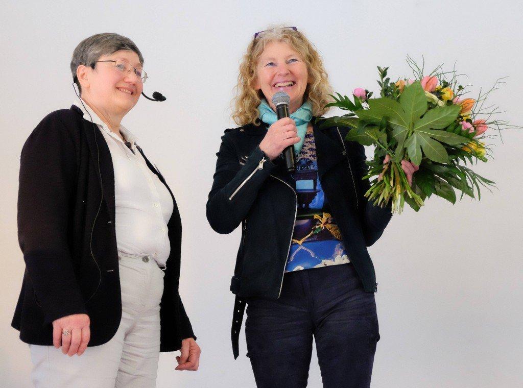 Mathilde Friedrichsen und Carmen Feller. Foto: Tanja Dolic