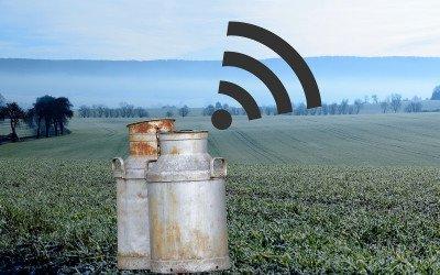 Gigabitnetze und Digitalisierung in der Landwirtschaft – ein Paradox