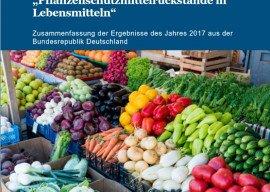 Geringe Belastung von Lebensmitteln durch Pflanzenschutzmittel