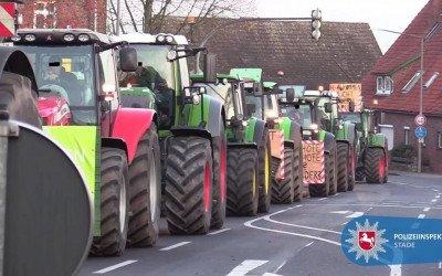 Die Bauernproteste in den Medien